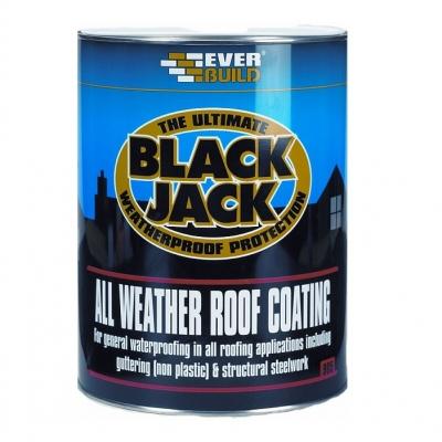 905 Black Jack All Weather Roof Coating 5ltr