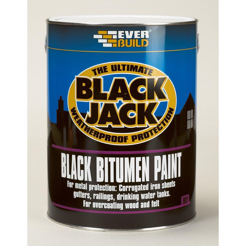 901 Black Bitumen Paint 25ltr