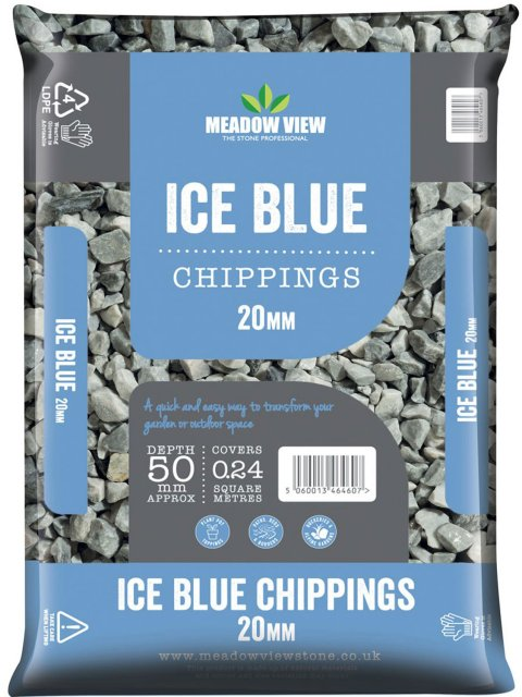 Ice Blue 20mm 25kg bags