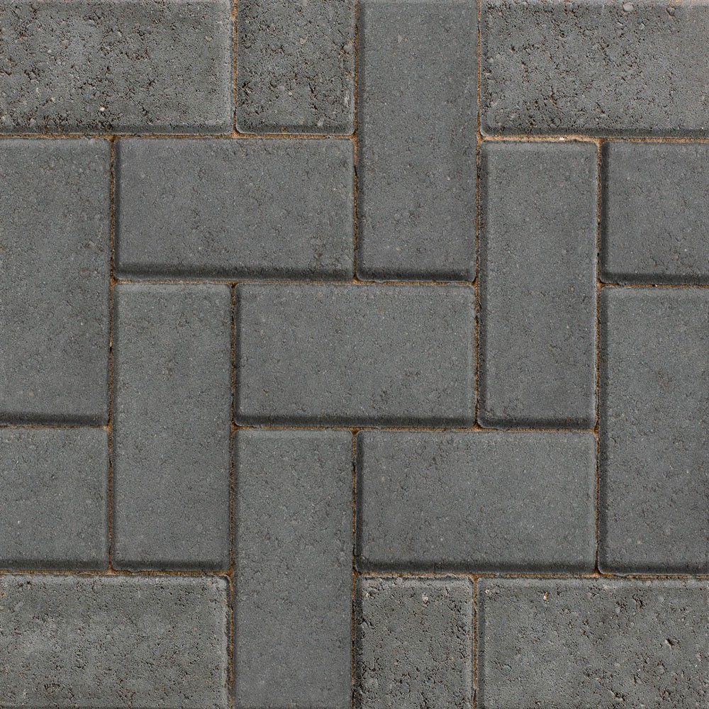 50mm Charcoal Block Paving (488 per pack = 9.76m?)