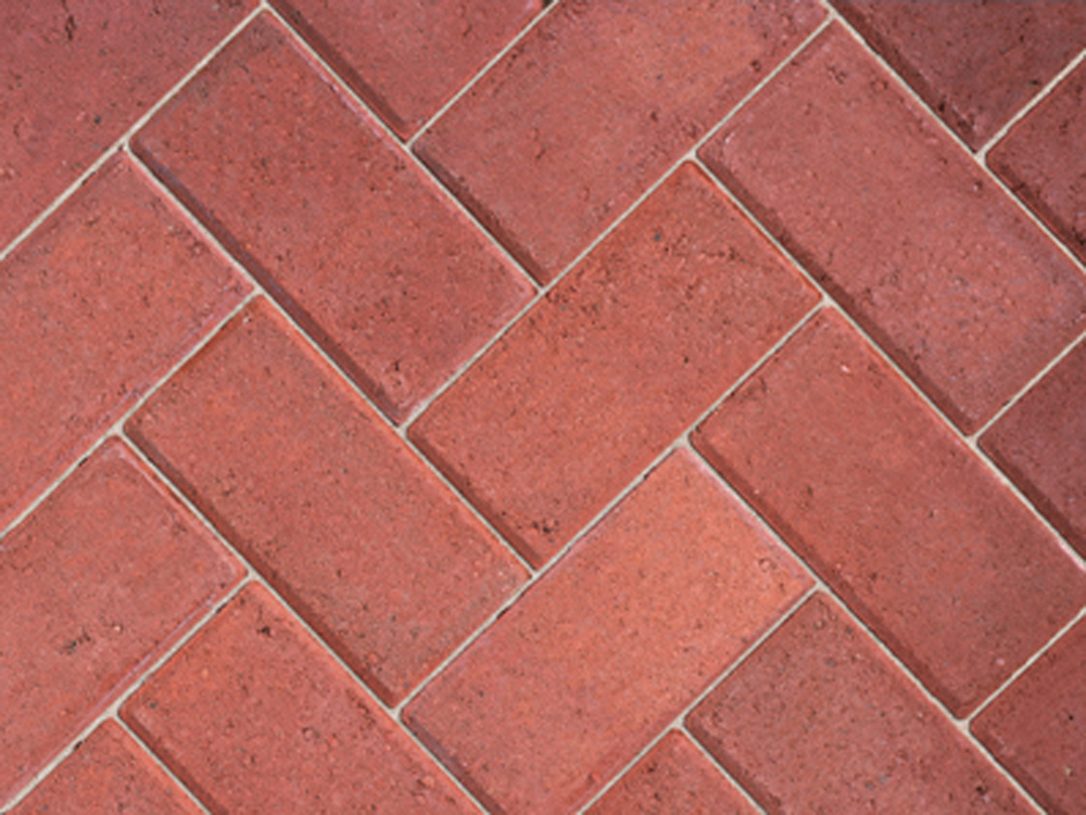 50mm Red Block Paving (488 per pack = 9.76m?)