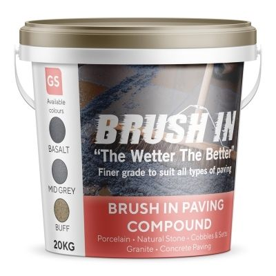 Brush In - Jointing Compound 20kg (Buff)