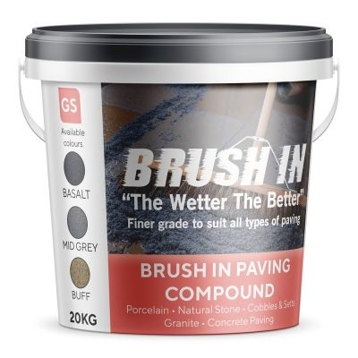 Brush In - Jointing Compound 20kg (Basalt)