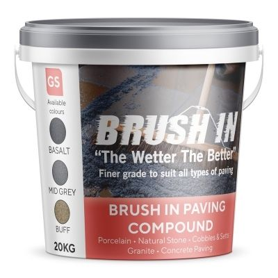 Brush In - Jointing Compound 20kg (Mid Grey)