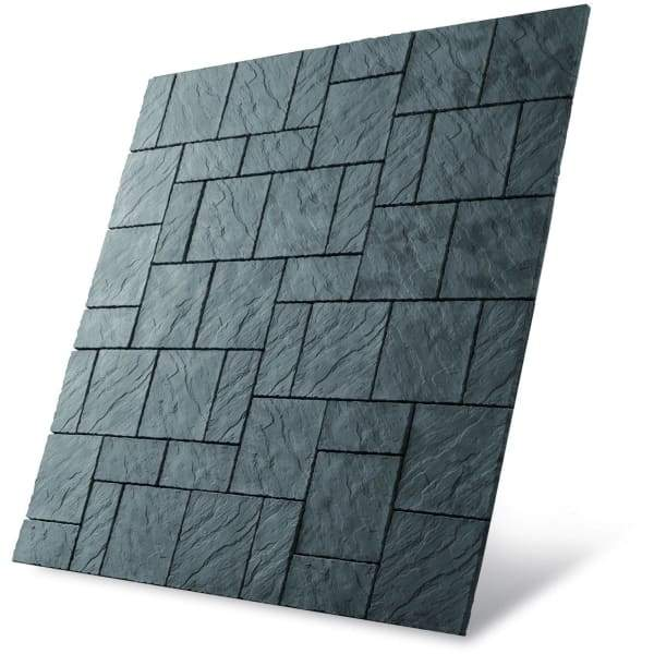 Chalice Patio Pack Welsh Slate (7.29m2 - 25no 450 x 450mm & 22no 450 x 225mm)