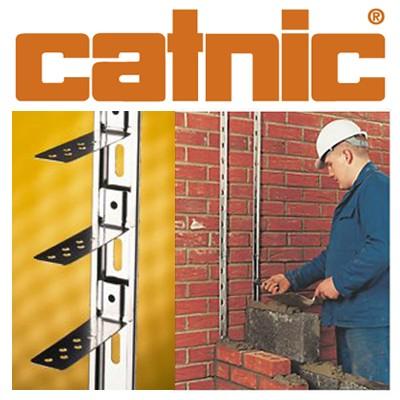 Catnic Stainless Steel Wall Starter (2.4mtr per pack)