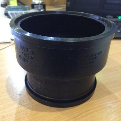 Adaptor DC6 100 Clay x 110 PVCu