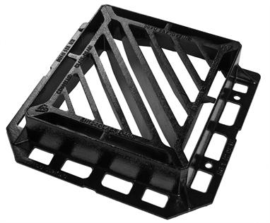 440 x 400 x 100mm D400 D/Tri Gully Grate & Frame (KD41DNN)