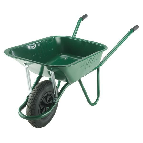 Endurance 90L Heavy Duty Green Wheelbarrow