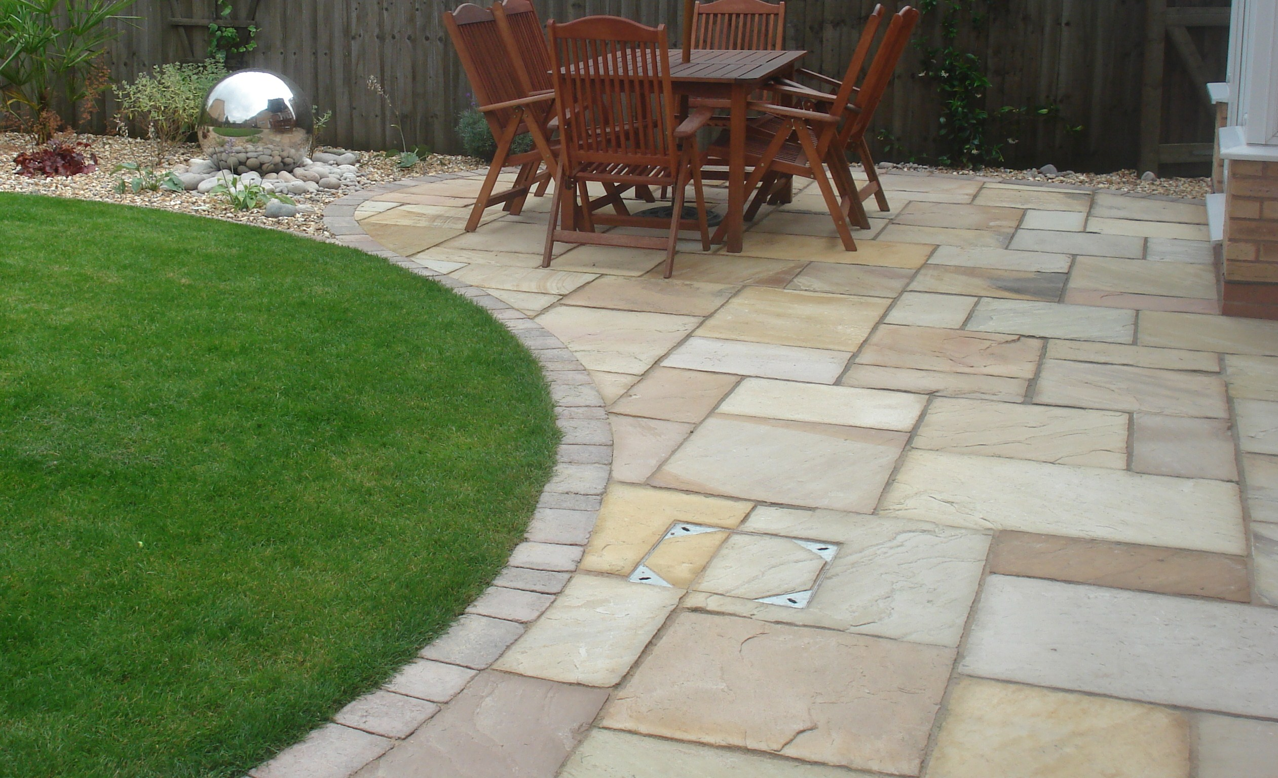 Fossil Buff Sandstone Patio Pack (H/C Natural) (19.26m2)