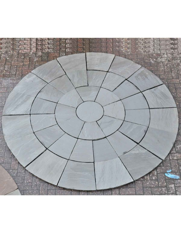 Kandla Grey 3mtr Diameter Circle (H/C Natural)