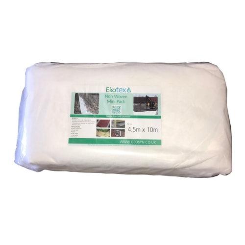 4.5 X 10mtr Mini pack white geotextile