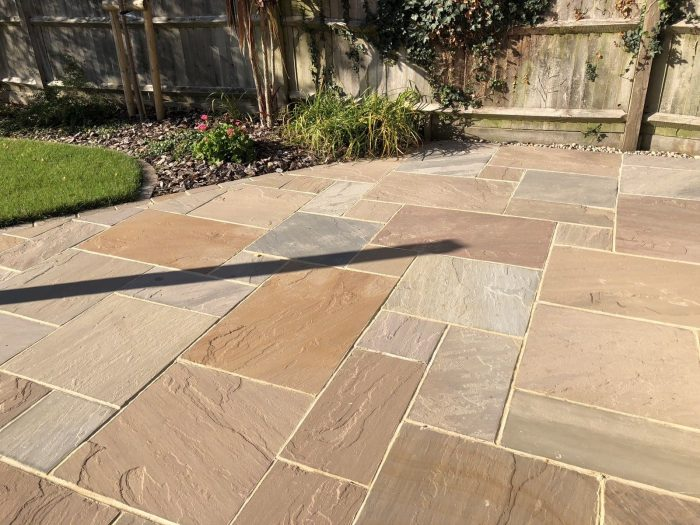 Raj Patio Pack (H/C Natural) (15.25m2)