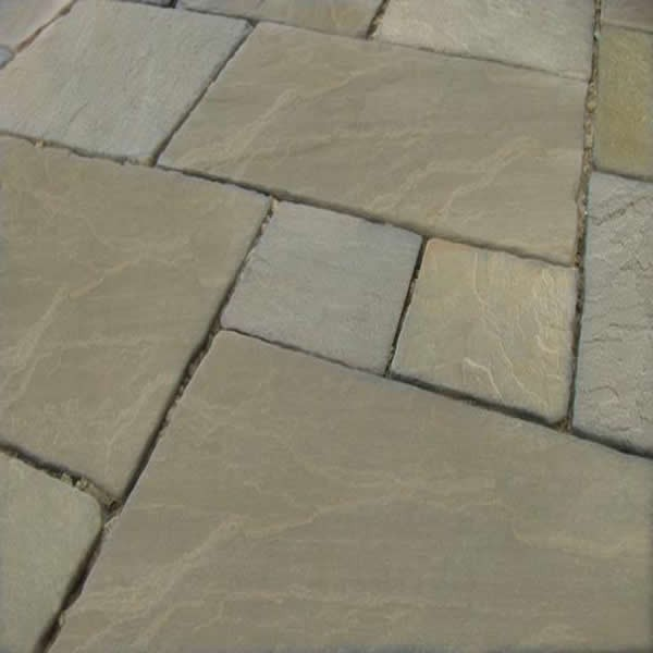 Raj Green Patio Pack (H/C Tumbled) (19.26m2)