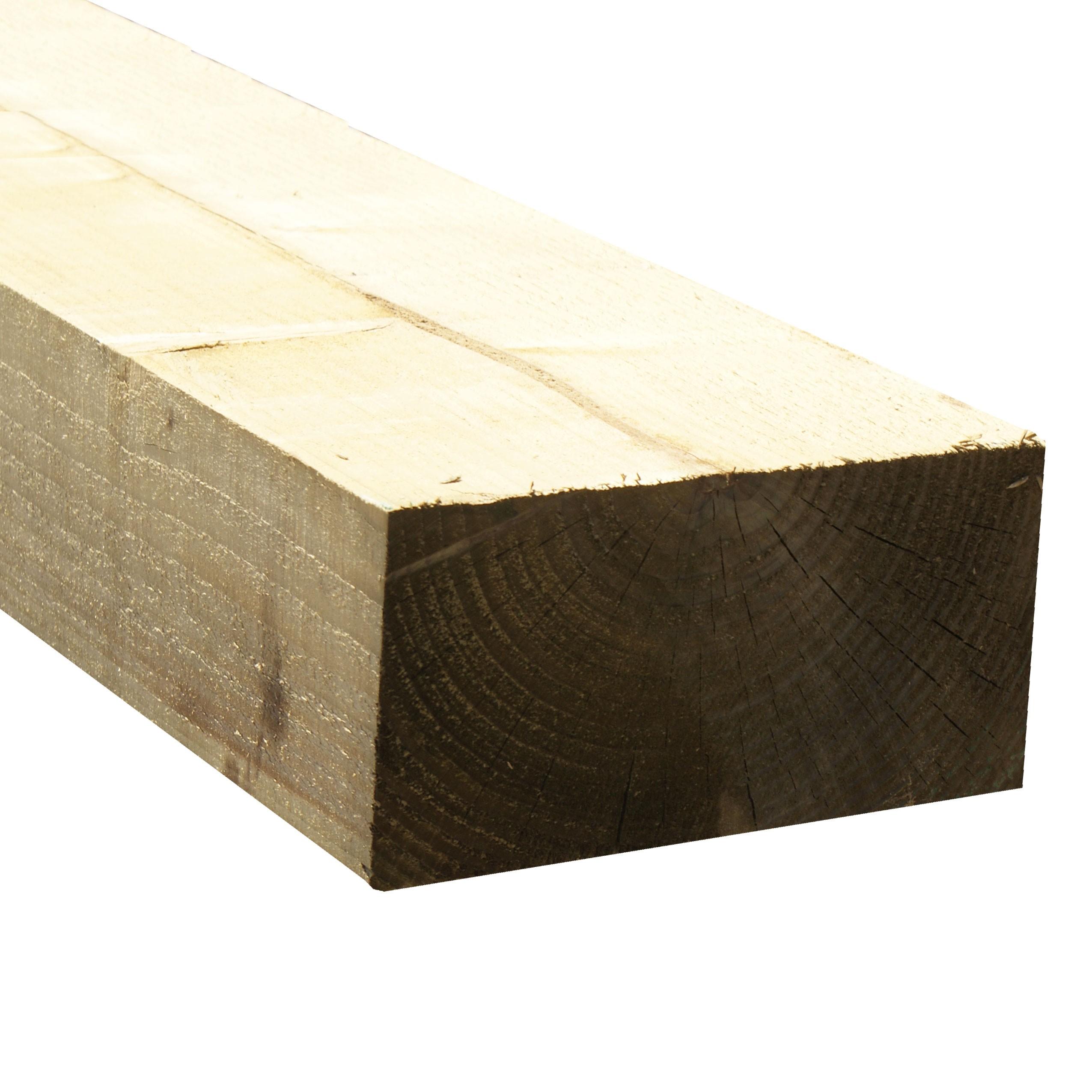 2400 x 200 x 100mm New Softwood Sleeper Treated