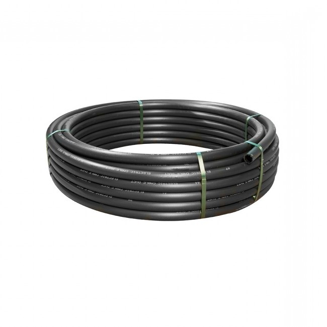 32/37mm x 25mtr Polyduct Black
