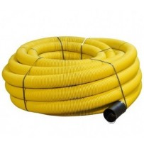 60mm Dia x 50mtr Yellow Perforated Gas Duct