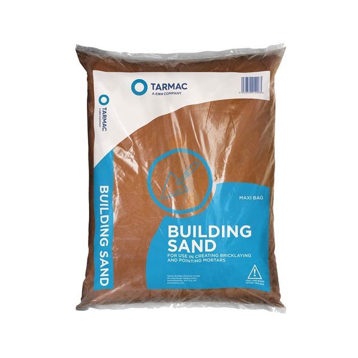 25kg Red Building Sand (56 per pallet)