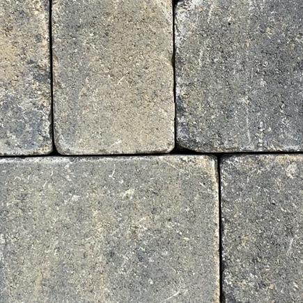 Abbey Traditional Driveway Blocks Burnt Willow 160 x 160 x 50mm (380 per pack) (9.74m2 per pack)