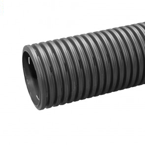 225mm x 6m Twinwall Perforated Pipe Plain Ended (14 pack)