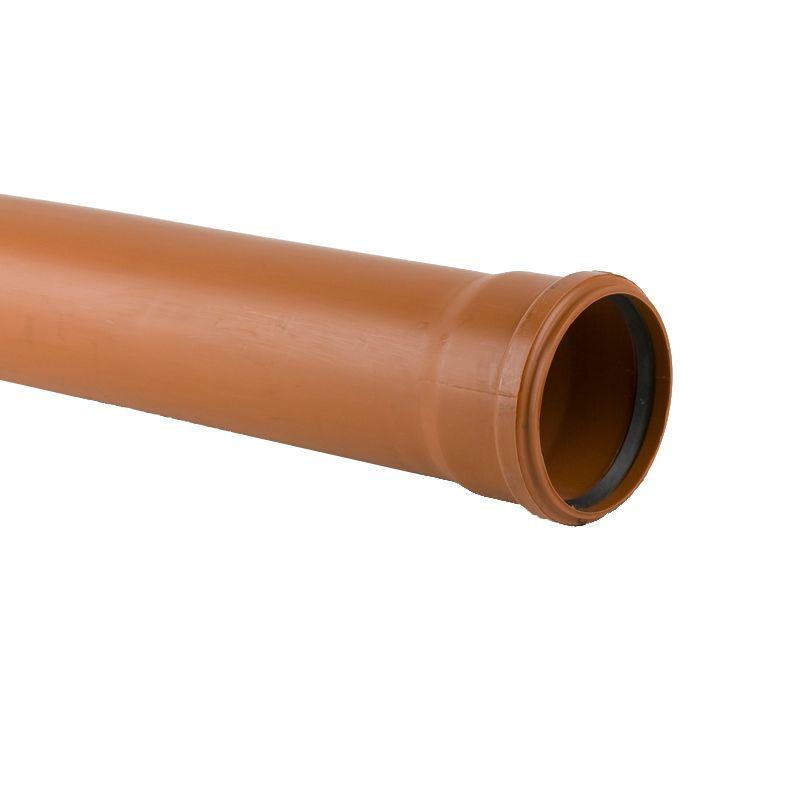 160mm x 6mtr PVCu Underground Pipe Single Socket (UG662) (40 Per Pack)