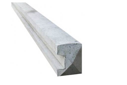 Wet Cast Slotted End Post 5 x 4 x 5ft