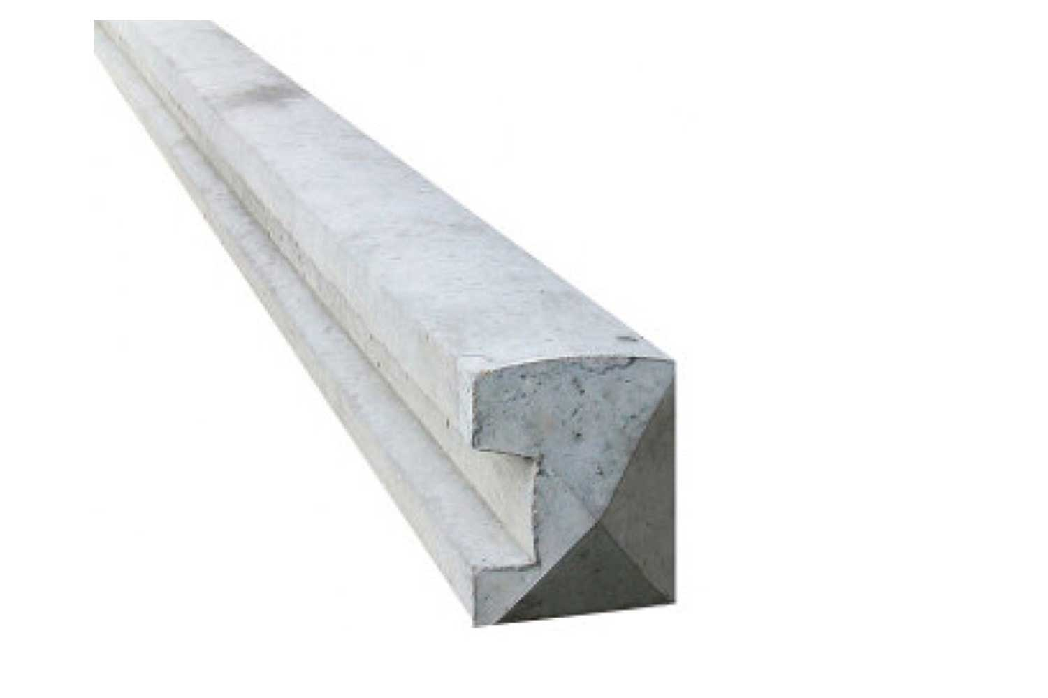 Wet Cast Slotted End Post 5 x 4 x 8ft