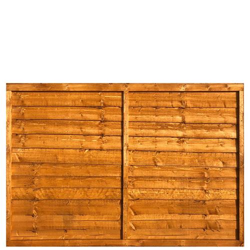Waney Lap Fence Panel 6x4