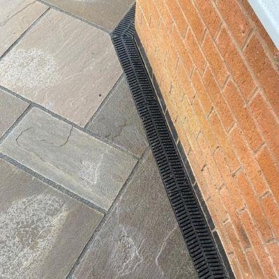 Pedestrian Linear Drainage